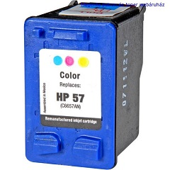 HP 57(6657) XL utángyártott tintapatron színes nagykapacitású