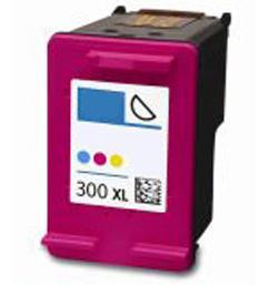HP 300 XL (CC644E)color utángyártott tintapatron (nagykapacitású) Prémium minőség