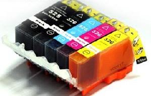 Canon  CLI-526  M + chip magenta utángyártott tintapatron