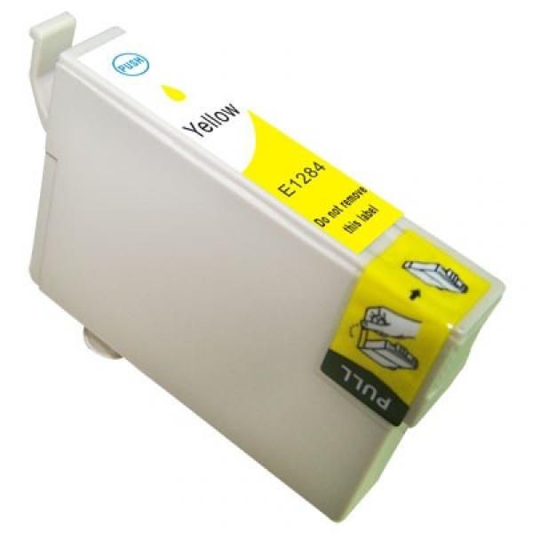 Epson T1284 yellow utángyártott tintapatron