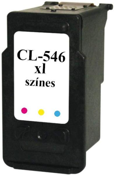 CANON CL-546 XL utángyártott tintapatron nagykapacitású színes