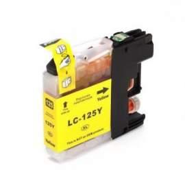 Brother LC123 sárga utángyártott tintapatron