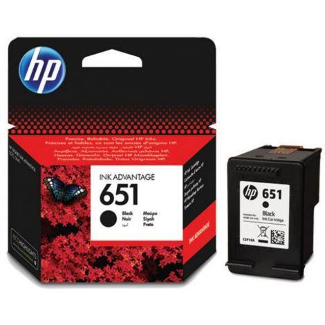 HP C2P10AE /651 fekete eredeti tintapatron