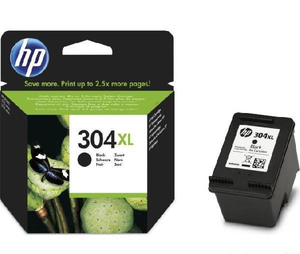 HP 304XL fekete eredeti tintapatron N9K08AE