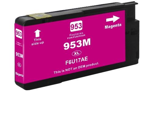 HP 953XL M (F6U17AE) magenta utángyártott tintapatron