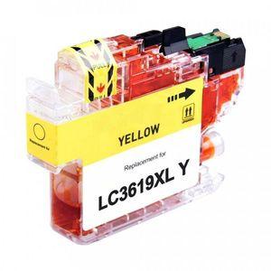 Brother LC 3619 [XL Y] eredeti tintapatron sárga